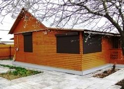 рольставни для деревянного дома